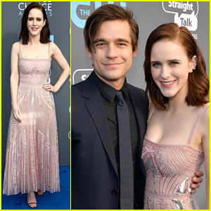 Rachel Brosnahan Attends Critics Choice Awards 2018 with Partner Jason Ralph!