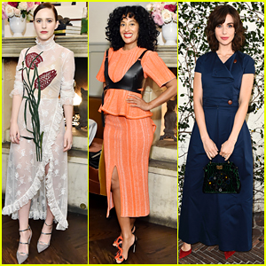 Rachel Brosnahan & Tracee Ellis Ross Join More 'It Girls' for W Mag's Luncheon!