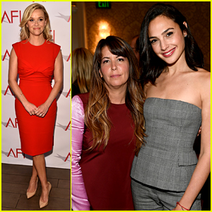 Reese Witherspoon Meets the 'Wonder Women' Gal Gadot & Patty Jenkins at AFI Awards 2018!