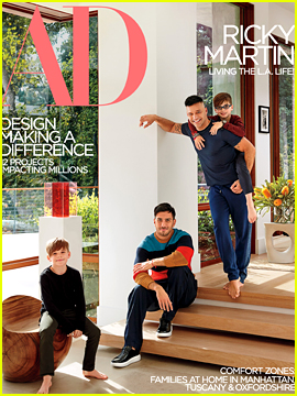 Ricky Martin & Fiance Jwan Yosef Open Up About Life at Home Together!