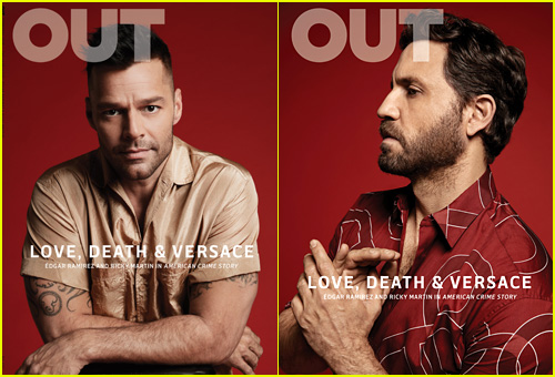 Ricky Martin & Edgar Ramirez Talk 'American Crime Story' with 'Out'