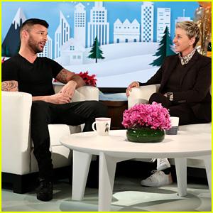 Ricky Martin Talks Spending the Holidays in Puerto Rico