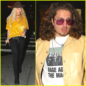 Rita Ora Goes Cowgirl Chic on Date Night with Boyfriend Andrew Watt