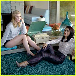 'Riverdale' Co-Stars Camila Mendes & Lili Reinhart Go Retro in a '50s Chic Photo Shoot!