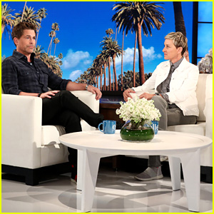 Rob Lowe and Ellen DeGeneres Discuss Recovery Efforts in Montecito