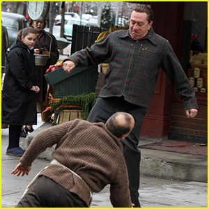 Robert De Niro Films Intense Fight Scene, Kicks a Man to the Ground for 'The Irishman'