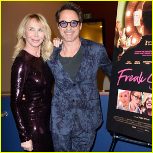 Robert Downey Jr Supports Trudie Styler's 'Freak Show' L.A Special Screening!