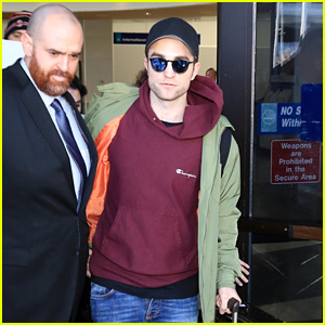 Robert Pattinson Arrives for Sundance Film Festival 2018