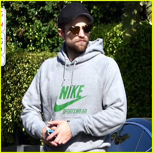 Robert Pattinson Wears His Gym Clothes for a Casual Stroll