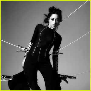 Maze Runner's Rosa Salazar Is All Tied Up for 'Rogue' Mag