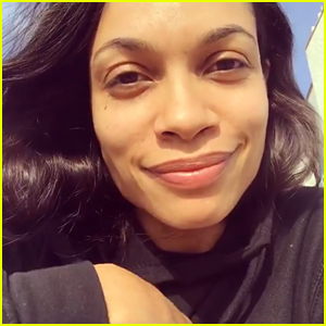 Rosario Dawson Explains Why Celebs Are Wearing Black to the Golden Globes