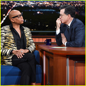 RuPaul Gives Stephen Colbert A Language Lesson in 'Drag Race' Vocabulary - Watch Here!