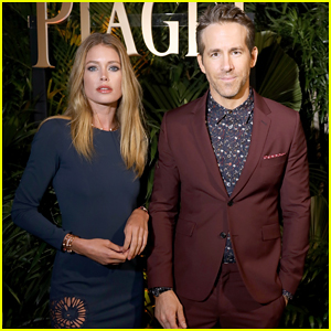 Ryan Reynolds Helps Piaget Launch New Campaign with Doutzen Kroes!