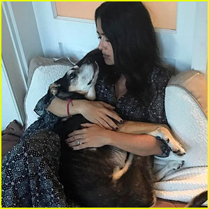 Salma Hayek Shares Touching Tribute After Dog Lupe's Death