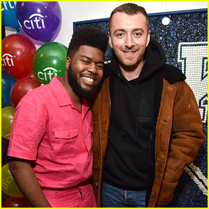 Sam Smith & Khalid Buddy Up Ahead of the Grammys 2018