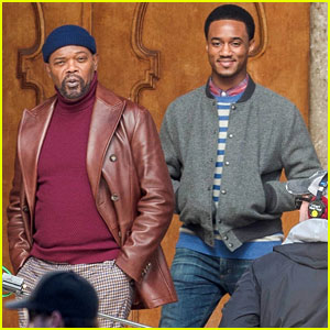 Samuel L. Jackson & Jessie T. Usher Start Filming 'Shaft' Reboot