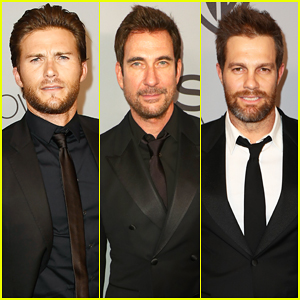 Scott Eastwood, Dylan McDermott & Geoff Stults at InStyle's Golden Globes After Party 2018!