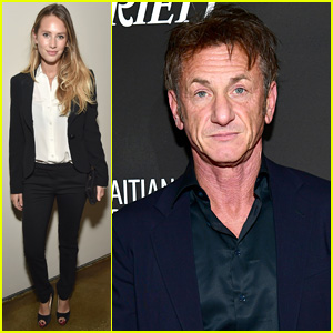Dylan Penn Supports Dad Sean Penn at His Charity Gala