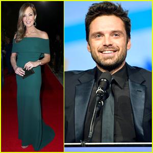 Sebastian Stan Joins 'I, Tonya' Co-Star Allison Janney at Palm Springs Film Festival