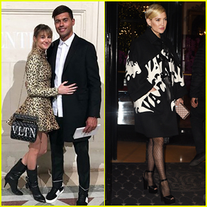 Shailene Woodley Makes Relationship with Ben Volavola Instagram Official at Valentino Paris Fashion Show!