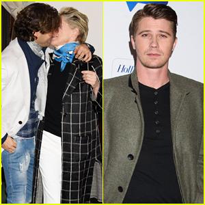 Sharon Stone Kisses Mystery Man at 'Mosaic' Screening with Garrett Hedlund!