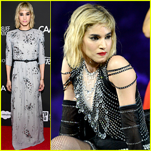 Sofia Boutella Performs a Dance Number in Madonna's Outfit!