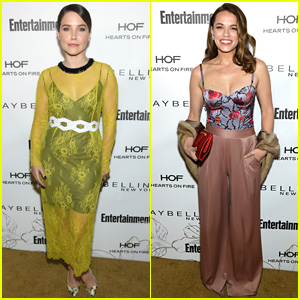 Sophia Bush & Bethany Joy Lenz Have a 'One Tree Hill' Reunion at EW's SAG Party!
