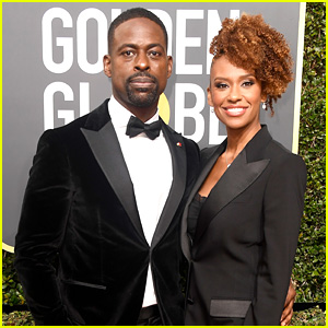 Sterling K Brown & Wife Ryan Michelle Bathe Are Picture Perfect at Golden Globes 2018