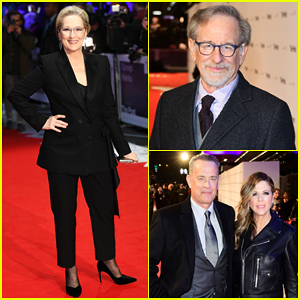 Steven Spielberg Reacts to Natalie Portman's All-Male Directing Shade Ahead of 'The Post' UK Premiere!