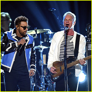 Sting & Shaggy Perform 'Englishman In New York' & 'Don't Make Me Wait' - Watch Now!