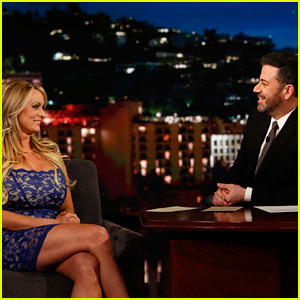 Stormy Daniels Avoids Answering Jimmy Kimmel's Questions About Alleged Trump Affair