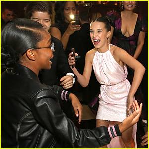 The 'Stranger Things' Kids Danced the Night Away at Netflix's SAG Awards After Party 2018!