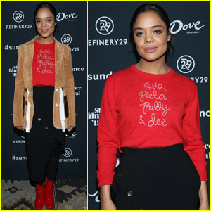 Tessa Thompson Supports Ava DuVernay & Female Directors at Sundance