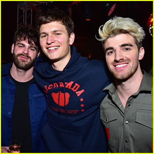 The Chainsmokers Prep for the Grammys with Ansel Elgort