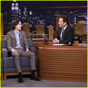 Timothee Chalamet Gushes About Meeting Angelina Jolie & Jennifer Aniston - Watch!