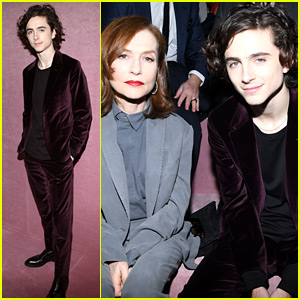 Timothee Chalamet Takes a Break from Awards Season for Paris Fashion Week!