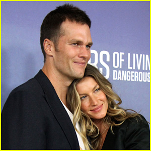Tom Brady & Gisele Bundchen Celebrate His 8th Super Bowl Trip!