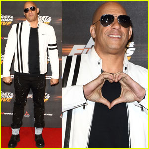Vin Diesel Kicks Off 'Fast & Furious' Live Show in London