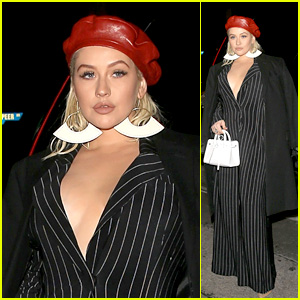 Christina Aguilera Gets Glam While Out in West Hollywood!