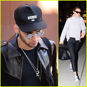 Zayn Malik Steps Out of Gigi Hadid's Apartment After Debuting New Chest Tattoo!