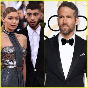 Ryan Reynolds & Gigi Hadid Celebrate Zayn Malik's Birthday With Hilarious Videos