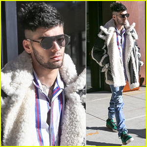 Zayn Malik Steps Out After Celebrating His Birthday in NYC