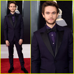 Zedd Looks Sharp on the Grammys 2018 Red Carpet!