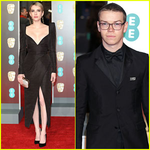 'We're The Millers' Co-Stars Emma Roberts & Will Poulter Attend BAFTAs 2018