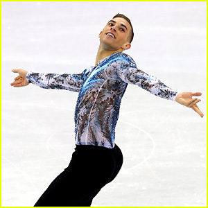 Adam Rippon Highly Recommends Going to the Olympics in Amusing Interview - Watch Now!