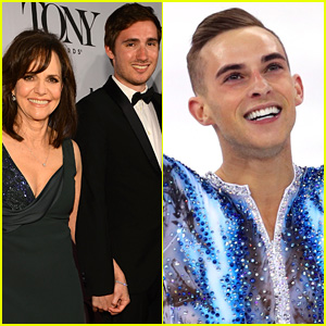 Adam Rippon Responds to Sally Field's Matchmaking Attempt with Him & Her Son!