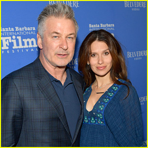 Alec Baldwin & Pregnant Wife Hilaria Couple Up for Santa Barbara Film Festival