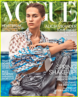 Alicia Vikander Gushes About Married Life with Michael Fassbender