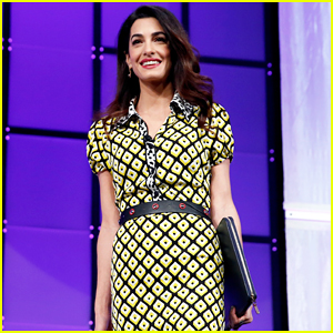 Amal Clooney Praises Parkland Student Survivors at Watermark Conference for Women: 'They Give Me Hope'