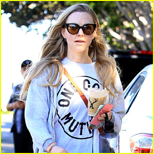 Amanda Seyfried Enjoys a Day at the Spa